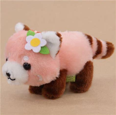 Panda Pink pink panda plush lesser panda chan from japan