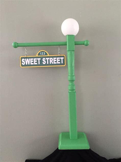 Ee  Sesame Ee    Ee  Street Ee   Lamp Post By Bellissimaparty On Etsy