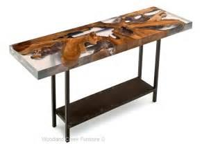 Resin tables acrylic sofa table industrial console table