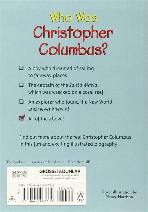 my first biography christopher columbus marion dane bauer christopher columbus books for kids kids matttroy