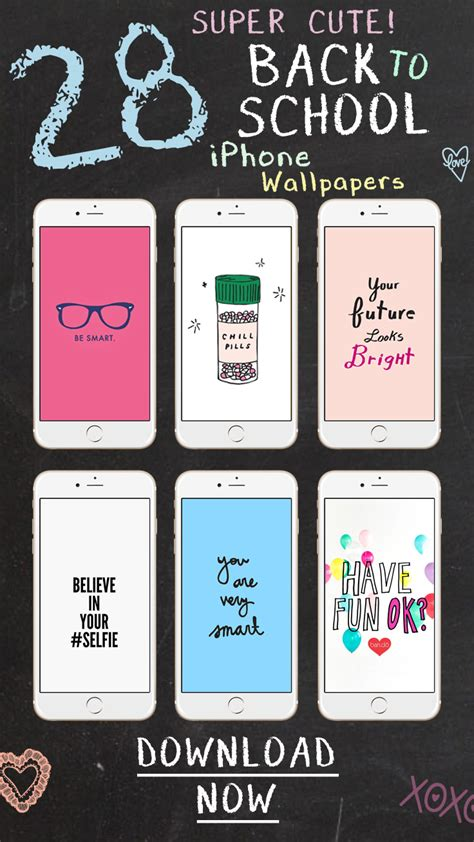 back to school back to school with 28 iphone wallpapers