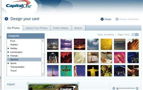 Capital One Custom Card Design