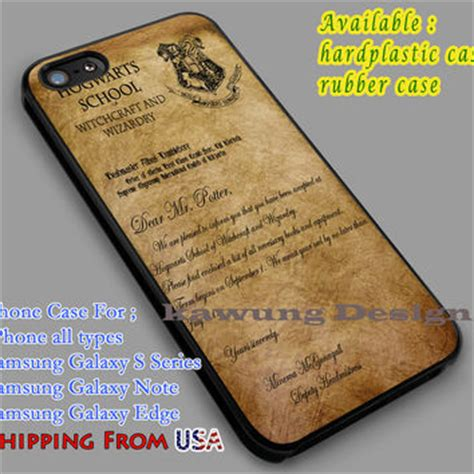 Harry Potter Acceptance Letter Iphone Best Hogwarts Acceptance Letter Products On Wanelo