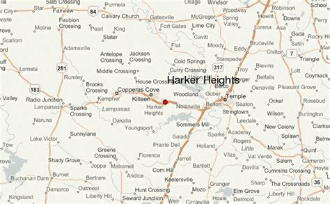 harker heights texas map harker heights location guide