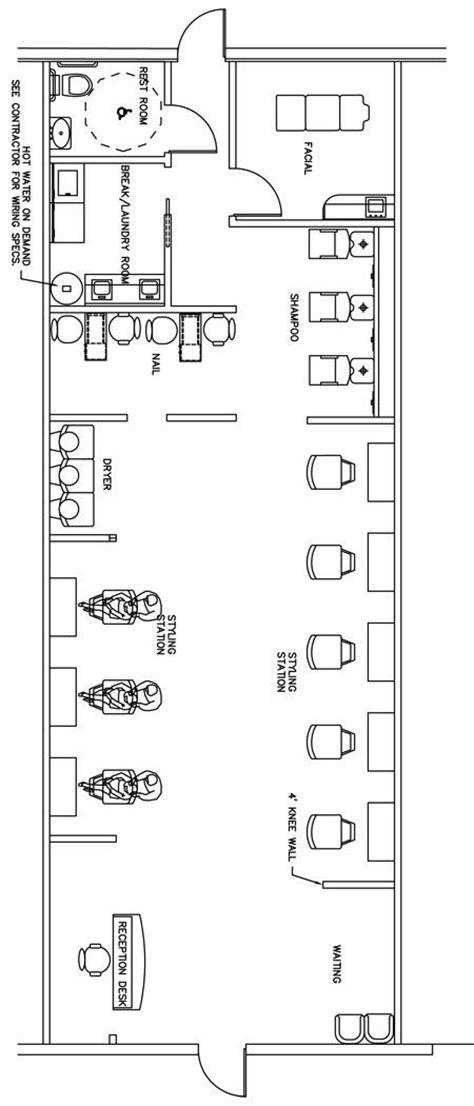 beauty salon floor plan design layout 3375 square foot 1000 ideas about nail salon decor on pinterest salons