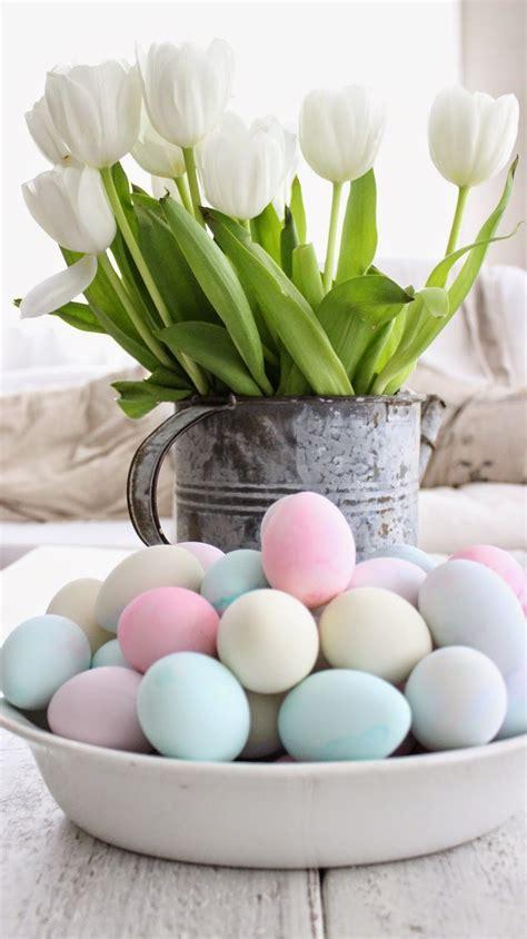 pretty easter eggs rustic farmhouse pretty pastel easter eggs