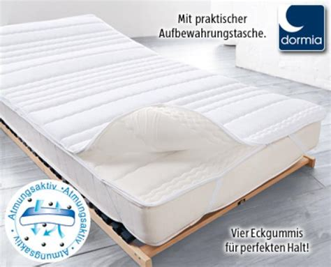 matratzen topper lidl dormia 174 matratzen topper sleep care aldi s 252 d ansehen