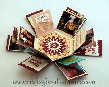 explosion box gift tutorial hexagon explosion box a perfect gift to give someone