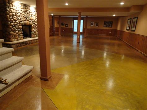 Polished Stained Concrete Floors by Stained Concrete Floor Fort Wayne Polished Concrete Nick