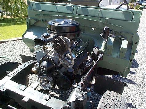 Chevy V8 Into A Series Land Rover 109