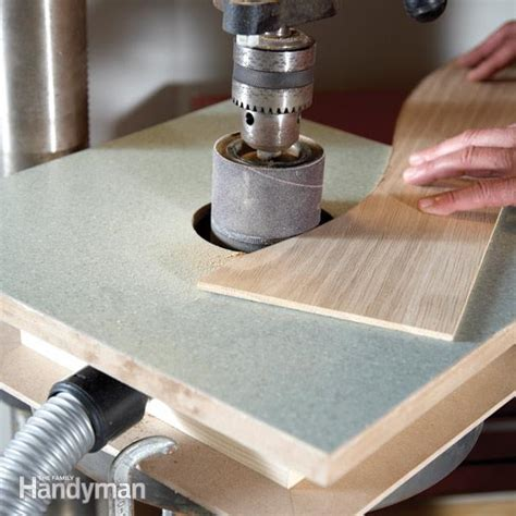 diy bench sander building a drum sander table the family handyman