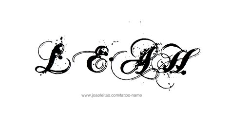 leah tattoo designs name designs