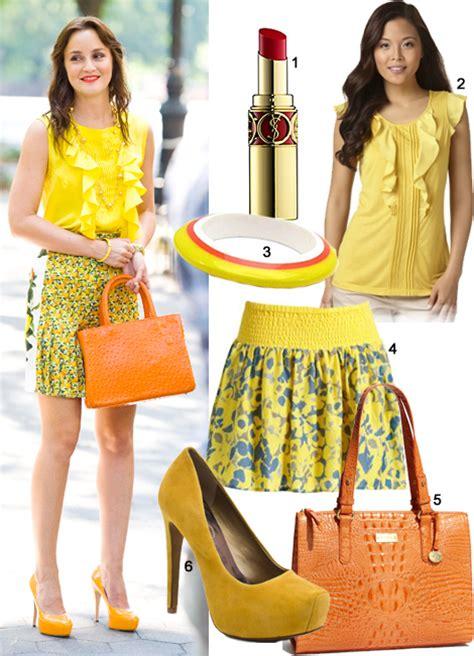 Get The Look Gossip Fashion Blair Waldorf by Gossip Fashion On Location Get Leighton Meester S
