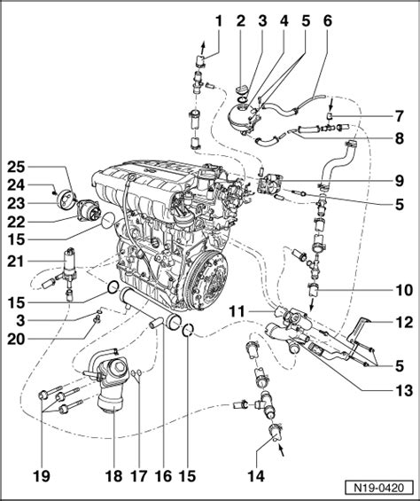 volkswagen mk4 golf engine diagram wiring diagram