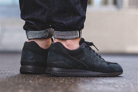 On Black new balance mrl996kp black sneaker bar detroit
