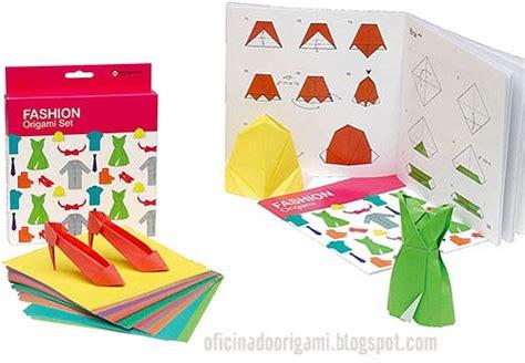 Fashion Origami Set - oficina do origami origami fashion