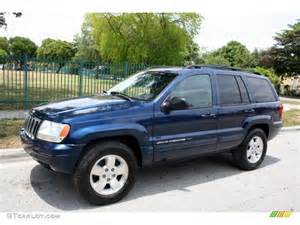 patriot blue pearl 2001 jeep grand limited 4x4