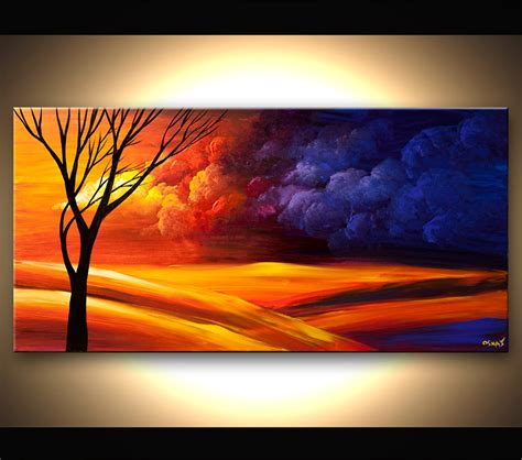 landscape painting contemporary landscape painting