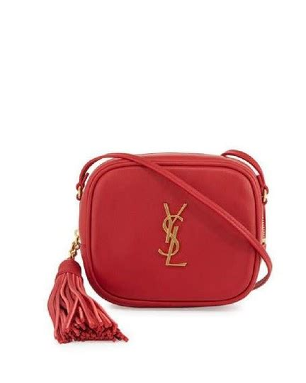 saint laurent monogram blogger  ysl leather shoulder