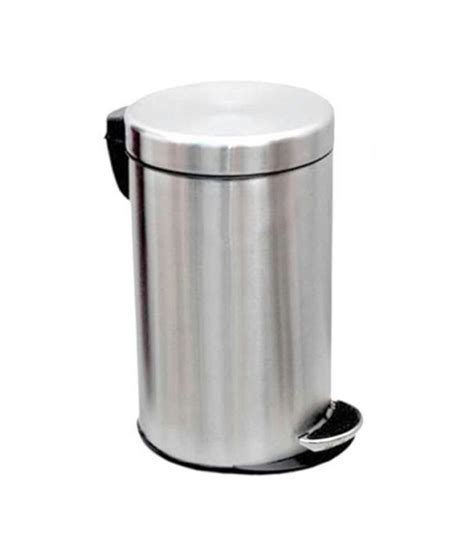 oswal matte color stainless steel dustbin buy oswal matte