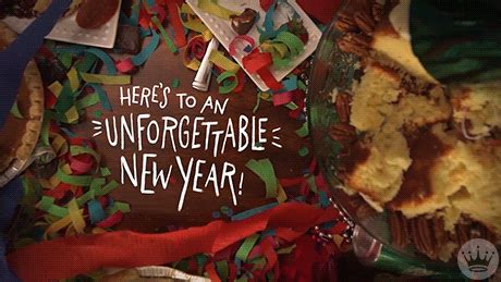 new year 2018 gif food gifs find on giphy