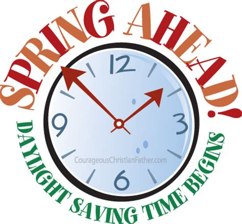 When Is Day Light Savings Time by Ahead Clipart Best