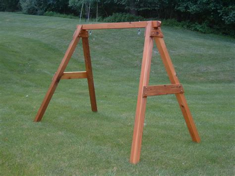 how to build a wooden swing set frame a frame for the swing how to build n a frame swing