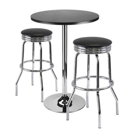 Walmart Bar Stool Table by 93362 3pc Bar Table With 2 Stools Walmart Ca