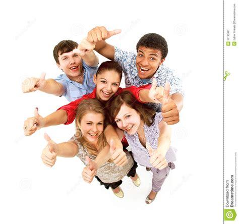 Imagenes Alegres De Amigos | grupo de amigos alegres felizes imagem de stock imagem