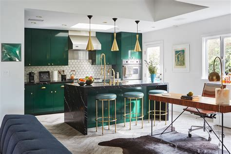 kitchen designer los angeles a bachelor embraces color and quirk in the hollywood hills