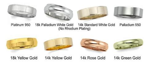 different colors of gold types of precious metal a diamonds ltd