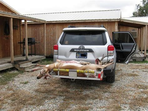 The Awning Man Hunters How Do You Hunters Transport Deer Toyota