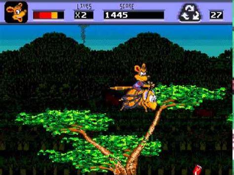 awesome possum genesis awesome possum genesis gameplay