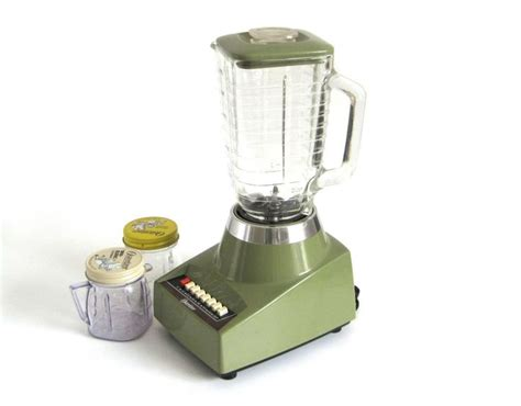 oster kitchen appliances oster blender made in usa 1970s avocado green kitchen
