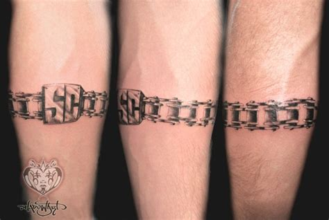 chain design tattoos 35 amazing chain ideas and meanings