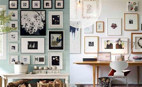 decorar varias fotos en una sola aprend 233 a decorar tus paredes con fotos
