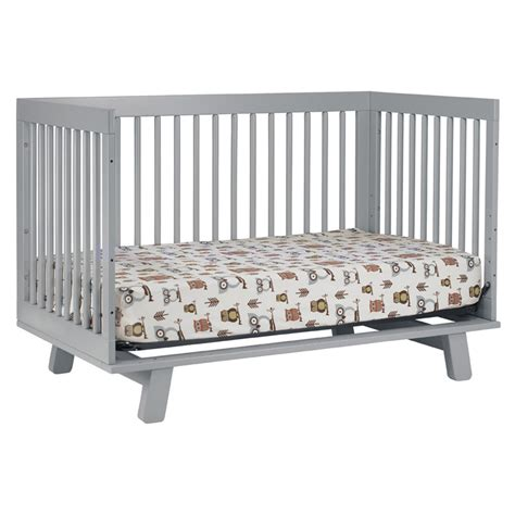 Grey Convertible Crib Grey Hudson Convertible Crib By Babyletto Rosenberryrooms