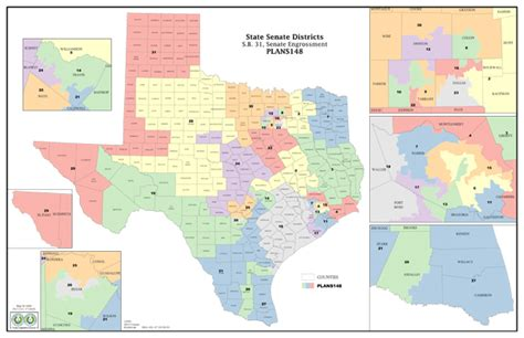 texas senate districts map texas legislature reshapes far west texas political districts 171 big bend now