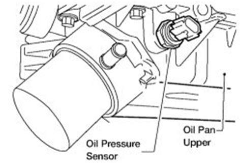 repair guides sending units sensors oil pressure
