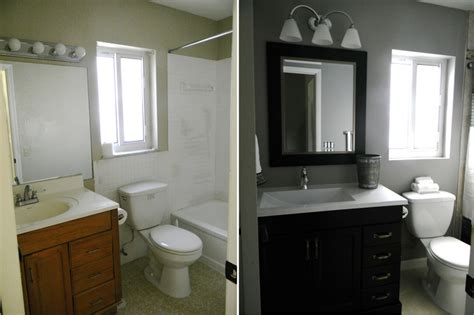 Bathroom Renovation Ideas On A Budget by Small Bathroom Renovation On A Budget Dream Bathroom