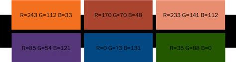best color with orange フラットデザインの定番トレンド配色 お手本webサイトまとめ photoshopvip