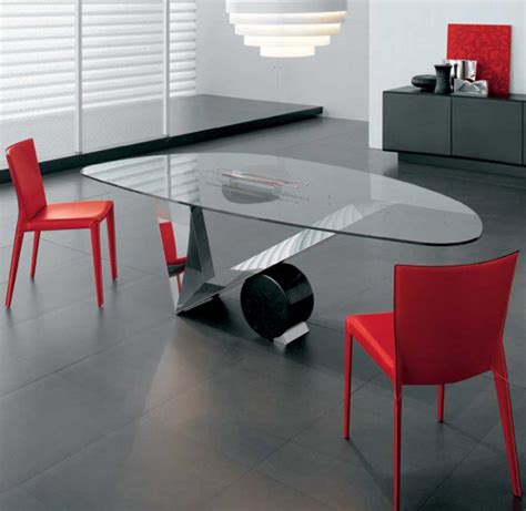 modern dining table interior design home design glass dining room table