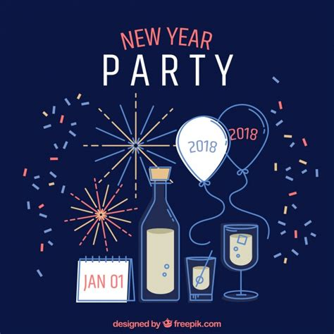 new year 2018 end date 2018 new year invitation merry happy