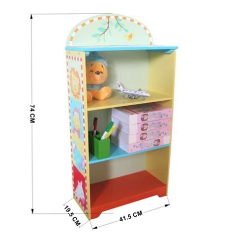 animal zoo themed storage bookcase bookshelf buy
