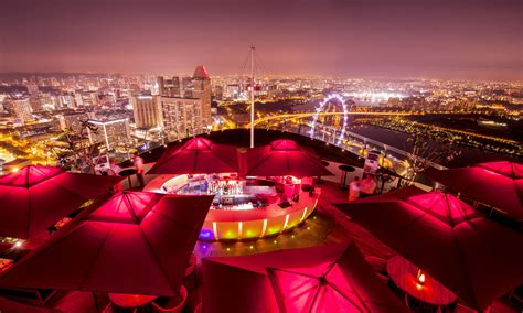 bar on top of marina bay sands the most expensive dinner in the world costs 2 million