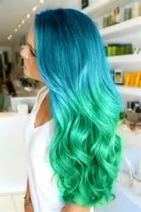 mermaid hair color mermaid theme in teal green hair color
