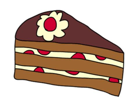 clipart torta kuchen backen clipart 31