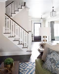 stair banister rails 25 best ideas about wood stair railings on