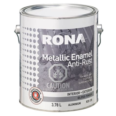paint alkyd anti rust paint and metal primer rona
