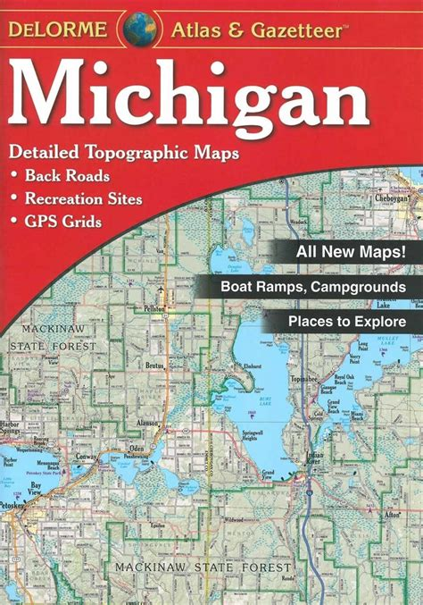delorme maps delorme maps michigan gazetteer fontana sports
